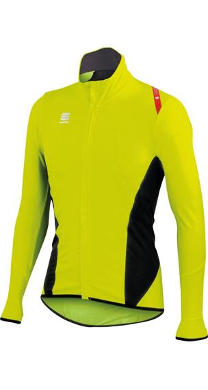 Sportful Fiandre Light Norain Top Jacket Men Yellow Fluo/Black